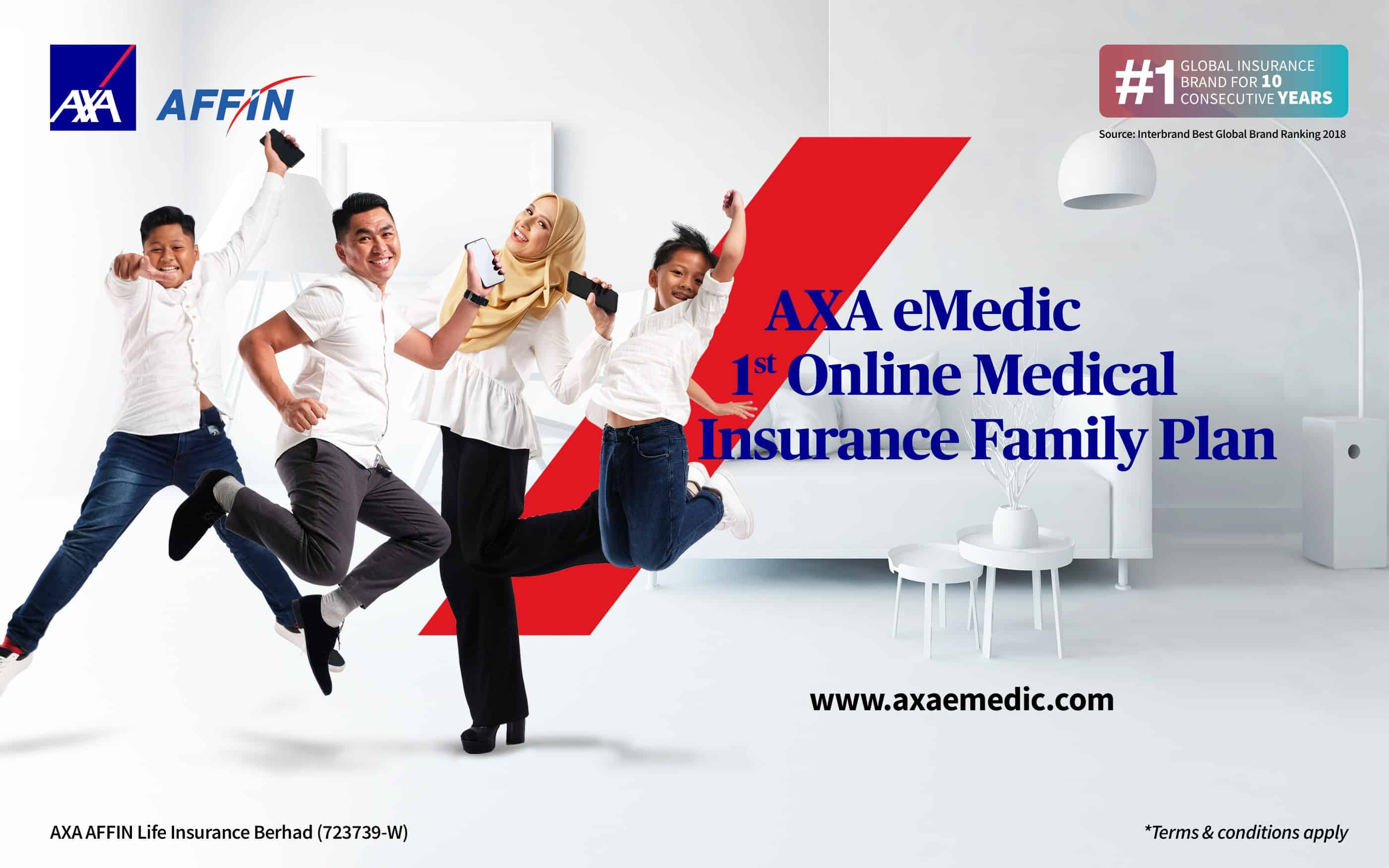 AXA AFFIN unveils a revolutionary offering of online Medical Card targeting young families in Malaysia