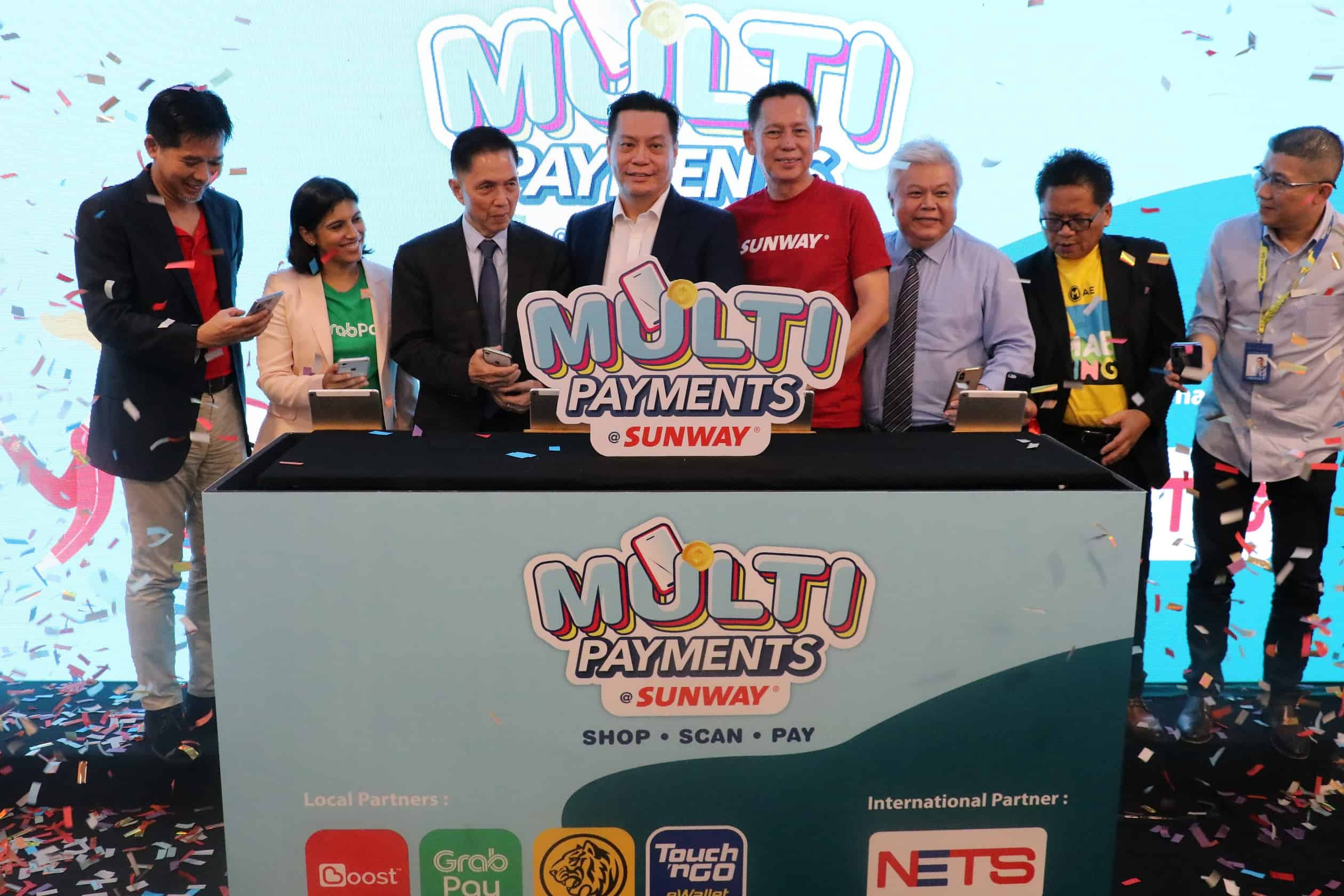 Sunway Malls Introduces Unified Payment Terminal To Facilitate Multiple Cashless Payments