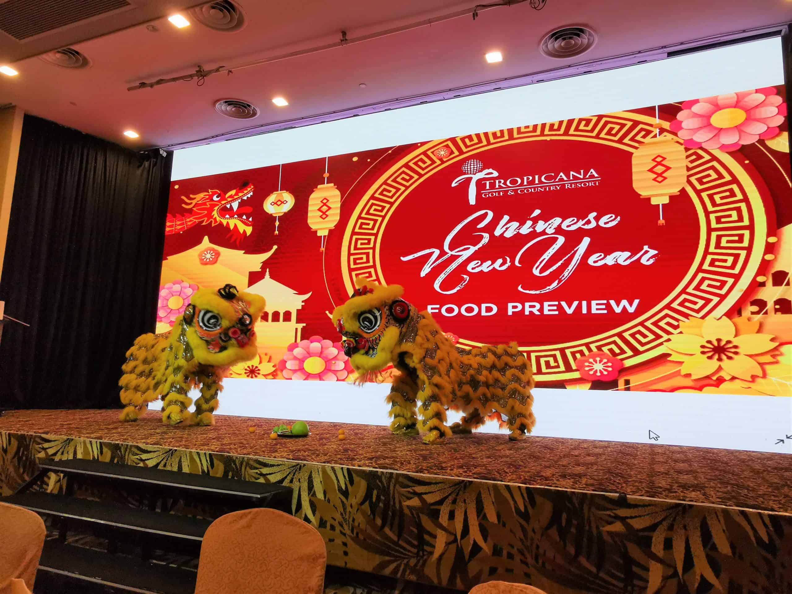 Tropicana Golf & Country Resort (TGCR) Ushers in Year of Rat with CNY Food Preview