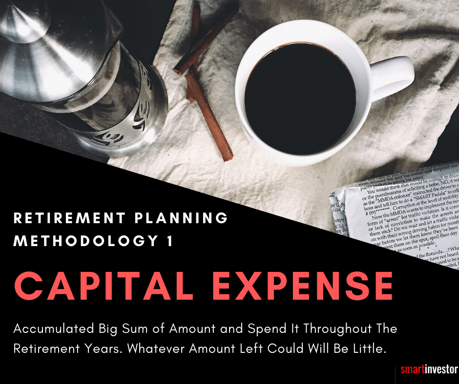 Capital Expense Method - Retirement Planning