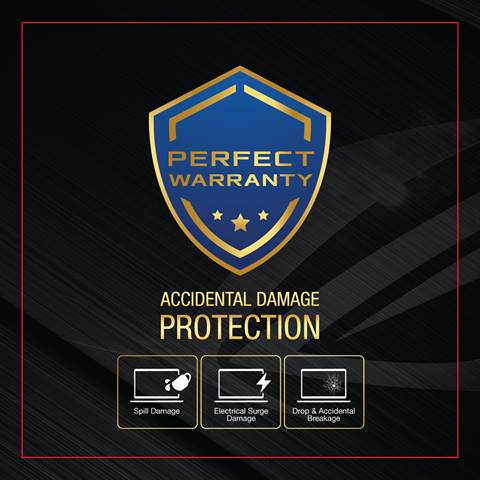 ASUS Perfect Warranty:  Accidental Damage Protection