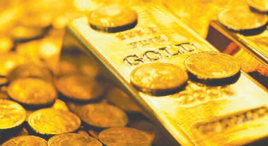 Gold shines as markets turn bearish