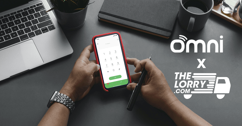 TheLorry Picks Omni Hotline as Communication Solution