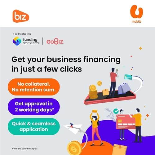 U Mobile Partners Funding Societies