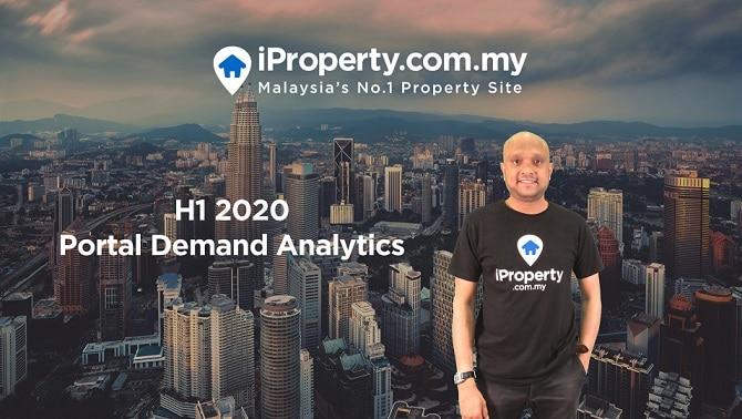 iProperty.com.my Unveils H1 2020 Portal Demand Analytics