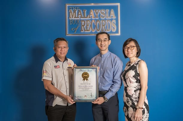 Raw Points Earns Spot on Malaysia Book of Records