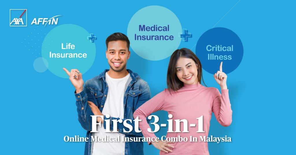 AXA eCombo online insurance protection