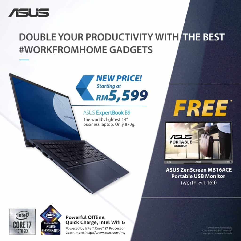 ASUS ExpertBook B9 - Q1 2021 Promo Bundle (Extended)
