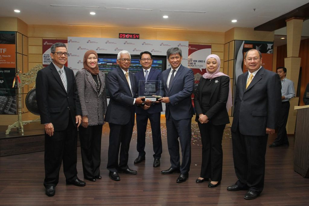 MyETF Dow Jones US Titans 50 Debuts as Malaysia's First US Dollar Denominated Listed Security