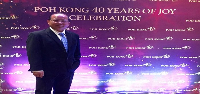 Poh Kong Expects Gold Price To Hover Around US$1,400