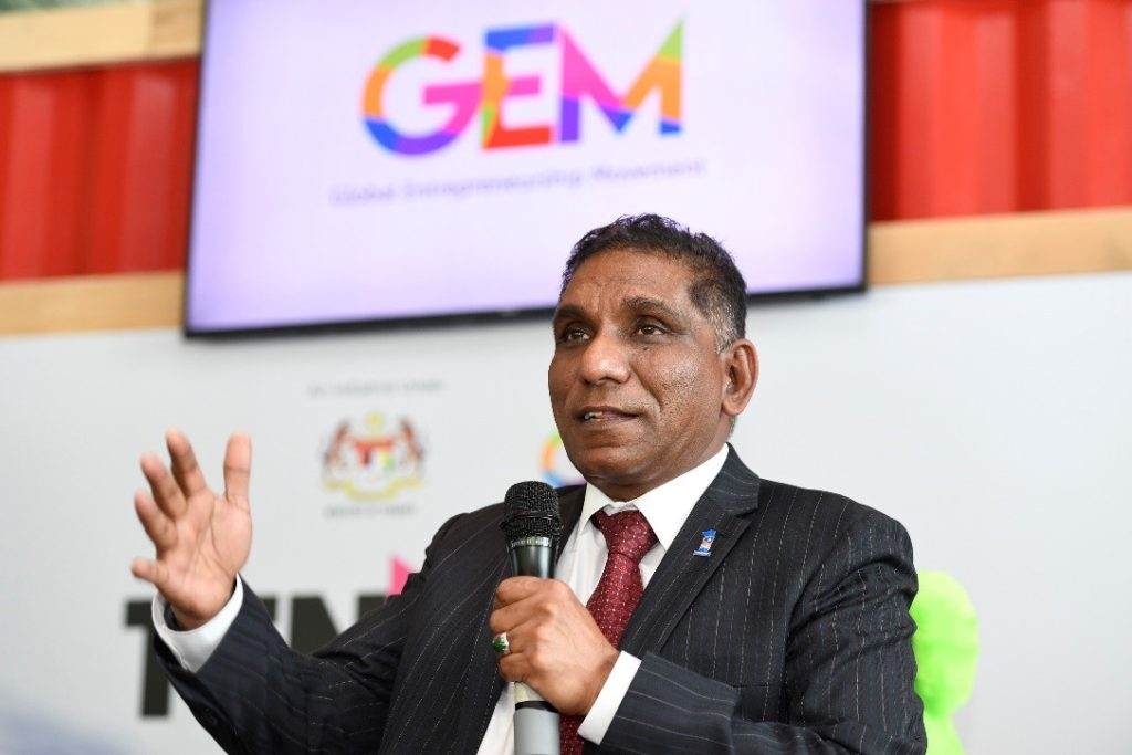 Tan Sri Dr. Mohd Irwan Serigar bin Abdullah, Patron and Founder of Global Entrepreneurship Movement (GEM)