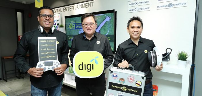 Digi's Freedom to Internet Brings a New Sense of Freedom with More Value, Convenience and Exciting Digital Service Offerings