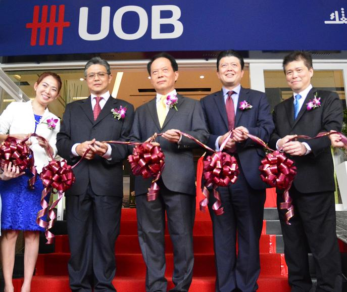 UOB Concept Branch Bangsar Opens