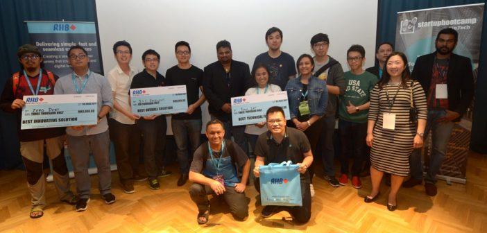 RHB, Startupbootcamp Fintech Hackathon Focuses on Customer Engagement in Digital Banking