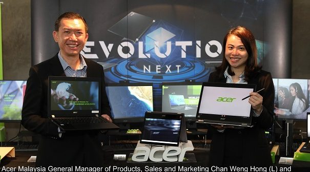 Acer Dazzles with New Extended Range of Devices