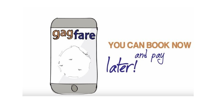 Gagfare book now pay later smart investor for Book flight online and pay later
