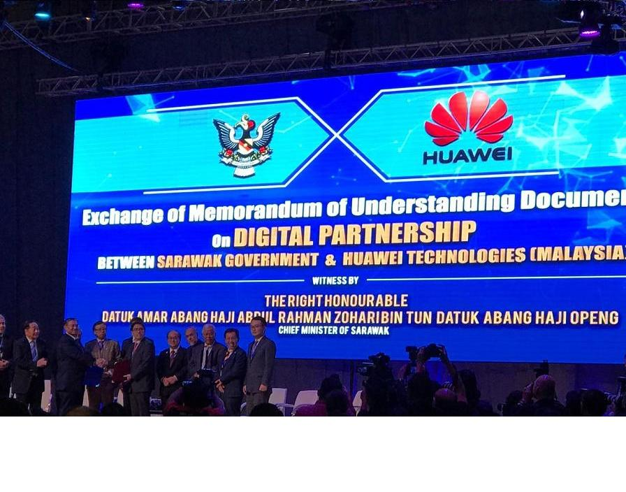 Sarawak partners huawei to draw digital economy blueprint smart sarawak partners huawei to draw digital economy blueprint malvernweather Choice Image