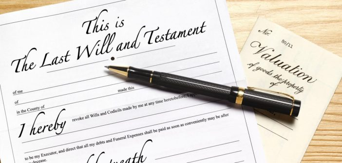Write your will before it's too late!